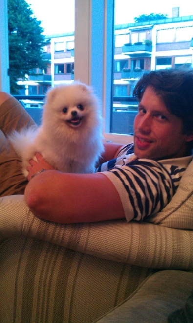 Bella Klein´s Jimmy (Hvit/White Pomeranian)